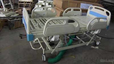 Super  Luxury Electric Sitting Commode Hospital Bed