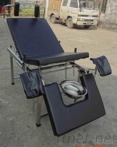 Stainless Steel Women Delivery Bed