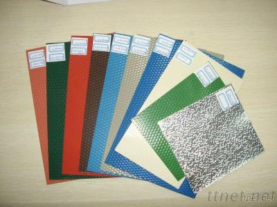 Stucco Embossed Color Coated Aluminum Coils / Alimunum Roofing / Metal Roofing