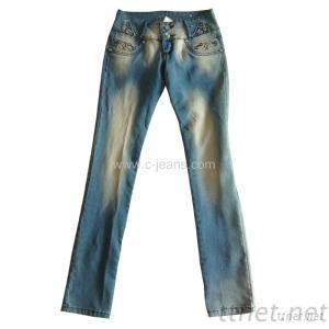 Lady's Denim Jeans
