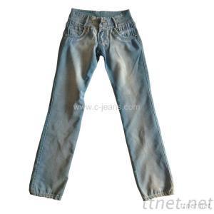 Lady's Long Jeans