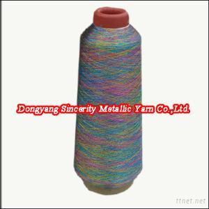ST/MS type Multi-color Metallic Yarn
