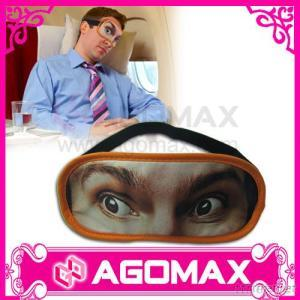 Eye Mask, With PVC Zipper Bag Packaging