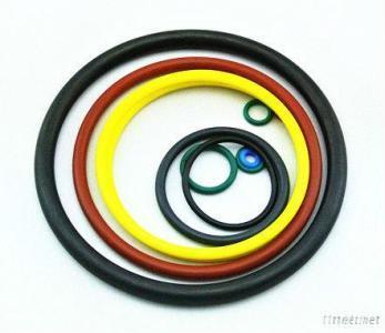 Colorful FDA Silicone Rubber O Rings