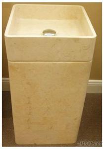 Artificial Pedestal Sink Marble Basin