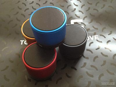 Multimedia Portable Bluetooth Speaker/ MP3 Player With Microphone TF Card Slot And Call Function