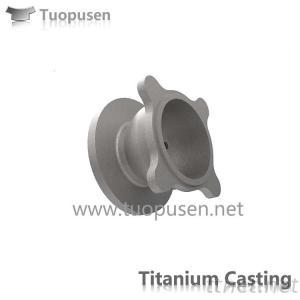 Titanium Casting valve Grade C2/3/5 ASTM B367