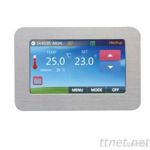 Colorful Touch Screen Floor Heating Thermostats