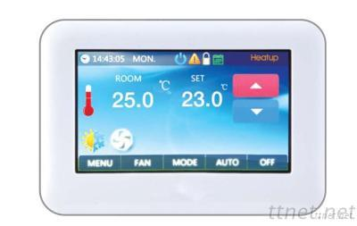 Digital Temperature Colorful Touch Screen Heating Thermostats