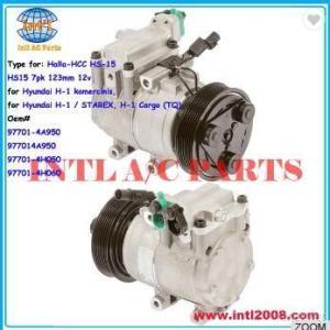 97701-4H060 compressor for Halla-HCC HS-15 HS15/Auto compressor HS-15 HS15 7pk
