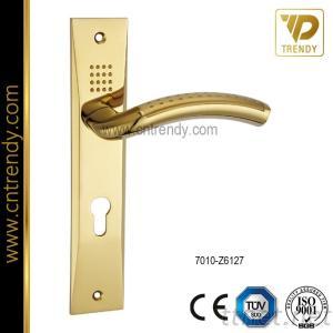 European Classic Style Zinc Alloy Door Plate Handle