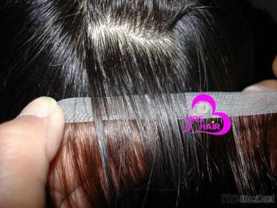100% Remy Human Hair Extension---Skin Weft