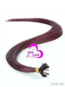 100% Human Hair-- I Tip Hair Extension