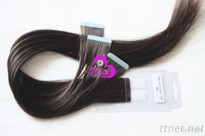 100% Virgin Remy Human Hair Extension Tape Weft Hair
