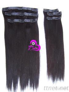 Clip Hair Extensions Human Hair Clip On Hair Remy Human Hair Extension