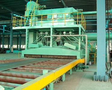 Steel Plate Sand Blasting Machine
