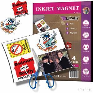 Inkjet Magnet A4 4 Sheets