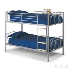Modern Steel Metal Frame Bunk Bed