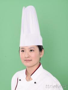 Special White Non Woven Round Top Chef Hat