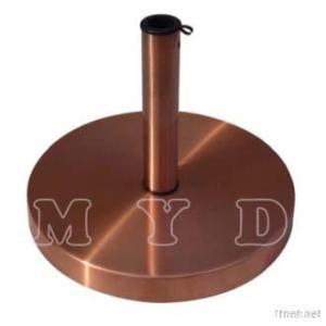30Kgs Steel Copper Plating Cover Umbrella Base
