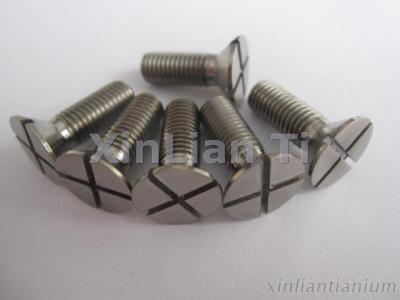 Gr2 Titanium Cross Recessed Screws And Bolts