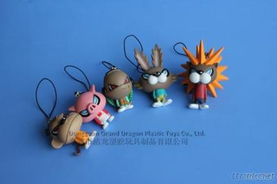 Mobile Phone Straps, Action Figures, Figurines, Plastic Toy Figures
