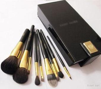 9Pcs High Quality Fashion Makeup Brush Set With Mirror