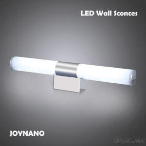 8W LED Mirror Light Modern Brief Tube Sconces 6200K Cool White