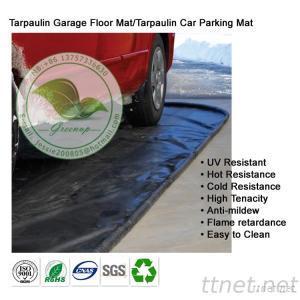 Custom Waterproof PVC Tarpaulin Carage Car Parking Mat