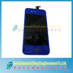 Deep Blue Touch Screen Assembly For Iphone 4S 16Gb 32Gb