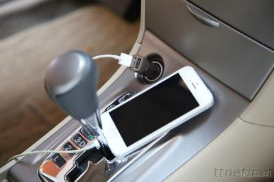 Bonicharger Mobile Phone Car Charger, Dual USB Car Charger