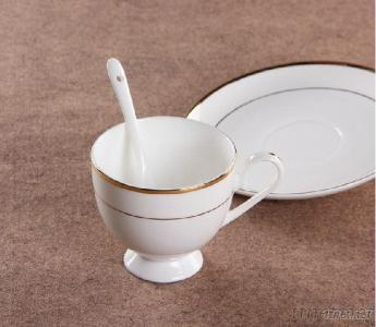 Fine Bone China Tea Cups And Saucers With Royal Design