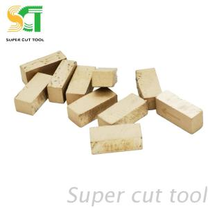 Diamond segments for stone block&slab cutting - granite&marble cutting tools