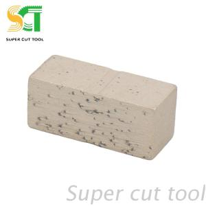 Diamond cutting segments for sandstone and limestone cutting and grinding