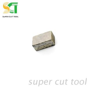 Diamond multi saw blade cutting segment for granite&marble block cutting