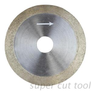 Diamond turbo saw blade for stone concrete ceramic tile cutting and grinding
