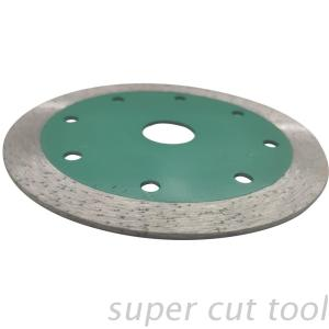 Diamond sintered continuous rim saw blade for stone&ceramic tile cutting and grooving