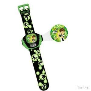 Digital Ben 10 Cartoon Projector Watch Toy Watch