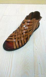 New Design Ladies Leather Fashion Belt Sandle Shoes