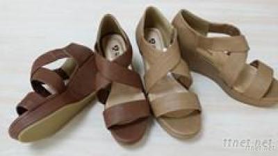 Ladies Fashion Wedge Sandal Shoes