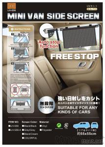 Car Sunshade -- Mini Van