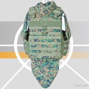Full Protection Bulletproof Jacket