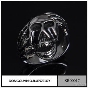 SR0017 Stainless Steel Jewelry Skull Fashion Ring