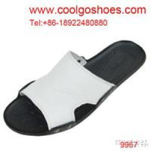 2013 Fashion Summer Leather Beach Slippers