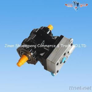 Sinotruk Parts Double Cylinder Air Compressor