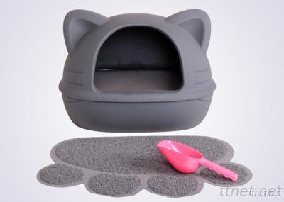SGS / AWQC Approval Hot Sale Indoor Small Pet Cat Toilet
