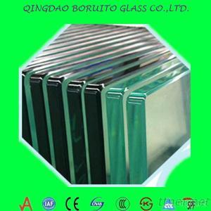 2Mm-19Mm Tempered Buidling Glass With CE/ISO9001/CCC