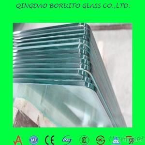 EXW Tempered Building Tempered Glass Sheet