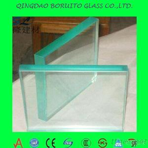 Flat/Bent Clear Tempered Building Glass