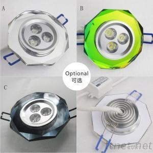 Fashion Crystal LED Ceiling Light 3W 300 Lm